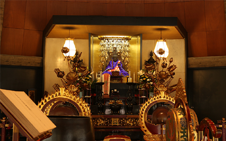 日蓮聖人像 写真